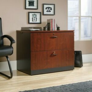 Filing Cabinet File Storage Via 2 Drawer In Classic Cherry Transitional