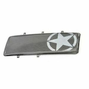 Rugged Ridge 12034 21 Military Star Spartan Grille Insert For Jeep Wrangler Jk