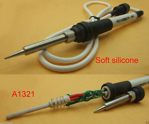 5pcs Silicone Cable A1321 Hakko907 Handle Iron For 937 928 936 Soldering Station