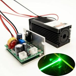 520nm 1000mw Green Laser Module 12v ttl built By Nichia Ndg7475