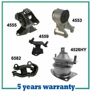 M415 Engine Motor Trans Mount For 2005 2006 Honda Odyssey 3 5l Lx Ex Set 5pcs