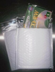 250 6 5x7 5 Poly Bubble Mailers Padded Envelopes Cd 6 5 X 7 5 Airjacket