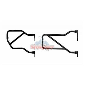 Steinjager J0031028 Front Rear Black Tube Doors For Jeep Wrangler Jk