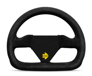 Us Dealer Momo Steering Wheel Mod12 Black Leather Racing 250mm