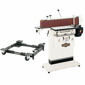 Shop Fox W1688 1 1 2 Hp Edge Sander Table With D2260a Mobile Base