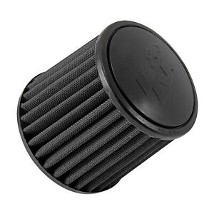 K n Ru 3103hbk Universal Round Tapered Air Filter W rubber Top Base 6 od