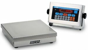 10 Lb X 0 002 Doran Digital Ntep Stainless Steel Checkweigher Scale 10 X 10