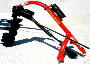Speeco Post Hole Digger Tractor Attachment No Auger 3 Point Warranty Newspeeco P