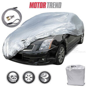 Motor Trend All Season Complete Waterproof Car Cover Fits Up To 170 W Lock