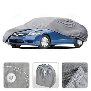 Car Cover For Honda Civic 06 14 Outdoor Breathable Sun Dust Proof Protection