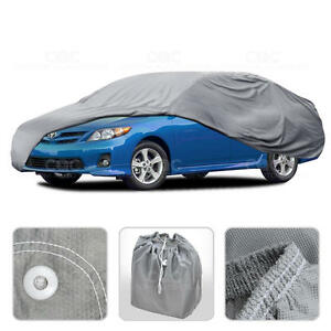 Car Cover For Toyota Corolla Outdoor Breathable Sun Dust Proof Auto Protection
