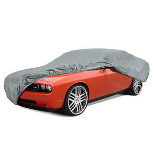 Bdk Max Armor Car Cover For Challenger Uv Proof Water Repellent Breathable