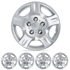 Hub Cap Cover Fits Nissan Altima Hubcaps 4pc Silver 15 Durable Abs Replica
