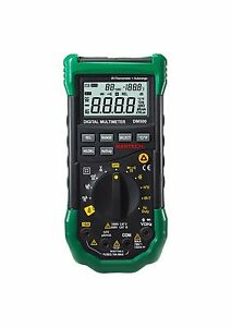 Mastech Dm500 Autoranging Digital Multimeter With Infrared Thermometer