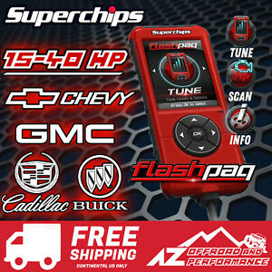 Superchips Flashpaq F5 Programmer 2845 99 13 Chevy Gmc Cadillac Buick Gas Engine