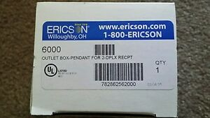6000 Ericson Safety Electrical Outlet Box