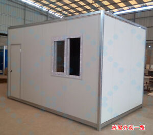New Detachable 4mx2 2mx2 3m Container House Home Office Space Shipped By Sea