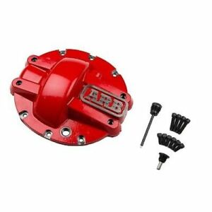 Arb 750007 Differential Cover red For Rear Gm 10 bolt Axles 8 5 Rg