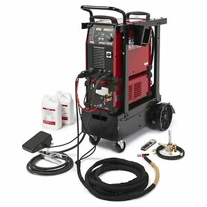 Lincoln Aspect 375 Ready pak Ac dc Tig Welder k3946 2