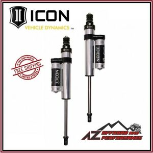Icon V s 2 5 Pbr Rear Shocks 3 Air Ride For 2014 2020 Dodge Ram 2500 3500