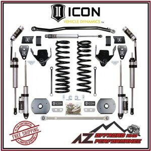 Icon 2014 2020 Ram 2500 4wd 4 5 Suspension System Stage 4 Air Ride