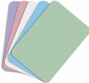 Defend Disposable Tray Covers 8 5 X 12 25 1 000 Per Box Pink Dental Tattoo