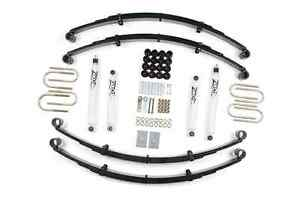 Zone Offroad J27 Full 2 Suspension Lift Kit For 87 95 Jeep Wrangler Yj 4wd Gas