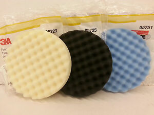 3m Perfect it Buffing Pad Kit 1 Pad Each 05723 05725 05751