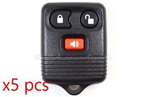 Set Of 5 Keyless Entry Remote Fob Programming Instructions Included