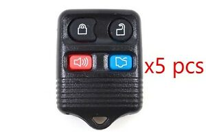 4 Button Keyless Entry Remote Fob Programming Instructions Included Set Of 5