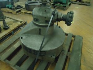 Tos Boring Mill Vertical Milling Head W100 W100a 40 Taper