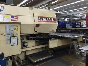 1995 Strippit Fc1250mh Turret Punching System 1616