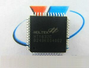 50pcs Ht1632c Qfp52 Holtek Driver Chip Of Led Dot Matrix Unit Board 256 Khz Ca N