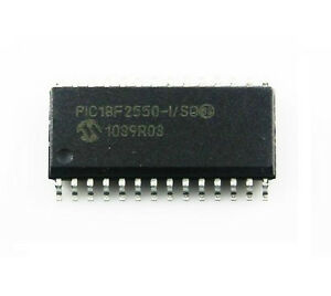 10pcs Ic Pic18f2550 i so Pic18f2550 Sop28 Microcontroller Mcu New Ca