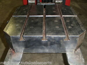 22 X 20 Steel Welding T slotted Table Cast Iron Layout Plate T slot Weld