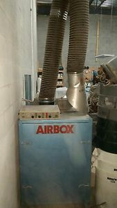 Welding Fume Collector Extractor Airbox Cascade Technologies