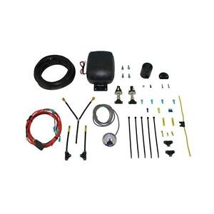 Air Lift 25852 Load Controller Dual Path With Standard Duty Air Compressor Kit