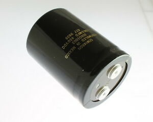 1x 2300uf 450v Large Can Electrolytic Aluminum Capacitor Dc 2300mfd 450vdc 2 300