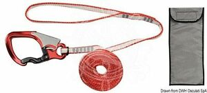 Osculati Safety Line 2m Ultra light Dyneema Snap Hook