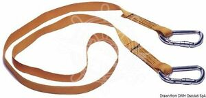 Osculati Euro Lightline Safety Line Belt 2m Hooks