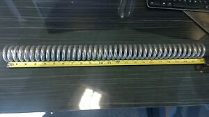 28 Diameter 22 l Stainless Steel Wire Compression Spring lot Of 2