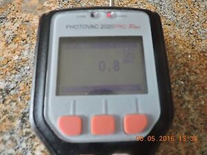 Vapor Analyzer Gas Detector A Photovac 2020 Pro Plus