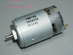 Johnson Electric Rs 550 Motor 12 24v 11000rpm Low Speed 550 Size Dc Motor