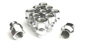 32 Lug Nuts 8 Lugs Wheels Open Et Acorn 9 16 Some Ford Chevy Dodge Ram Truck