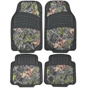 Bdk Camouflage 4 Piece All Weather Waterproof Rubber Car Floor Mats For Car Suv