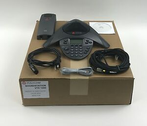 Polycom Soundstation Vtx 1000 Conference Phone Analog Bulk