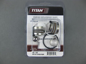Titan Speeflo 106 050 Or 106050 Pump Repair Kit Oem