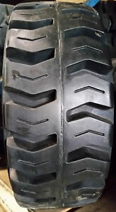 2 Tires 15x5x11 1 4 Solid Idl Forklift Press on Traction Tire Usa Made 15511