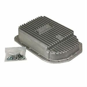 B M 70295 Cast Deep Automatic Transmission Oil Pan For Gm 4l80e