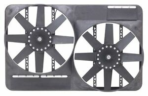 Flex a lite 298 Dual 13 1 2 Inch Electric Fan System With Full Shroud